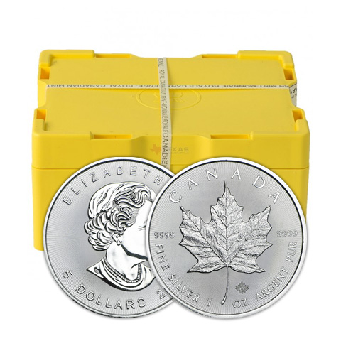 Monsterbox Maple Leaf 2017 zilver